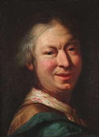 bildnis eines mannes (selbstportrait?) by salomone adler
