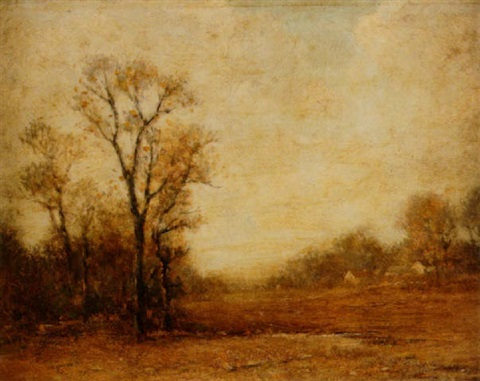 tonalist landscape by edward loyal field