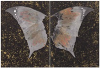 untitled (wings) (2 works) (diptych) by ashim purkayastha