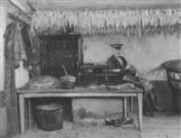 in der maisküche by friedrich (fritz) raupp