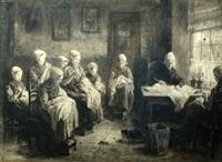 seamstresses by jozef israëls