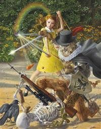 magical girlanimal knight by tokuhiro kawai