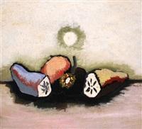 trois fruits coupés by jean lurçat