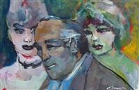 tre personaggi by mino maccari