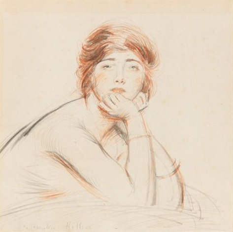 portrait of jacqueline by paul césar helleu