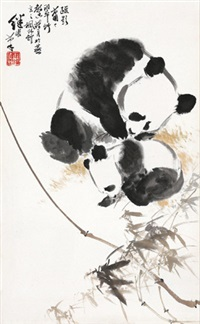 熊猫 by liu jiyou