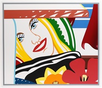 from bedroom painting # 41 by tom wesselmann