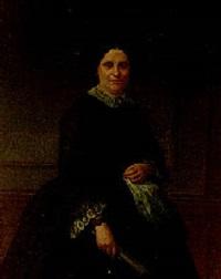 retrato de dama by angel maria cortellini y hernandez