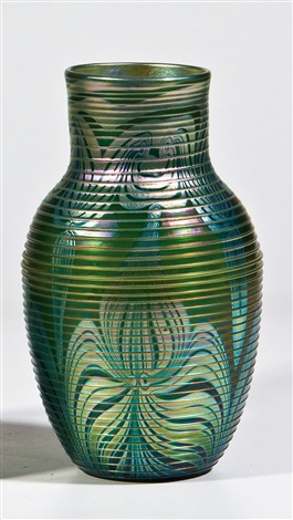vase favrile by louis comfort tiffany
