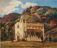 pauline chapel, colorado springs by dorothy carnine scott