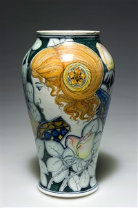 vase by arte della ceramica