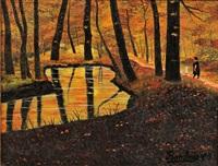 sous-bois d'automne by camille bombois