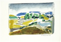paesaggio by emilio ambron