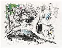 le faisan by marc chagall