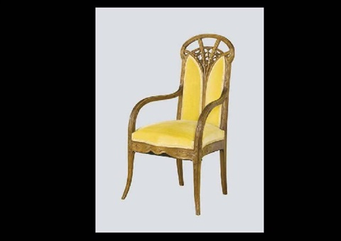 armchair by louis majorelle
