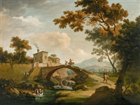 landschaft mit reisenden by anonymous-italian (18)