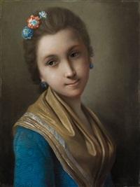 bildnis einer jungen russischen dame by pietro antonio rotari