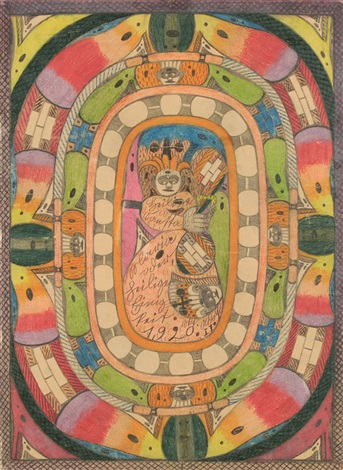heilige mutter maria oder heilige einigkeit by adolf wölfli