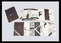 llambrec material portfolio of 12 by antoni tàpies