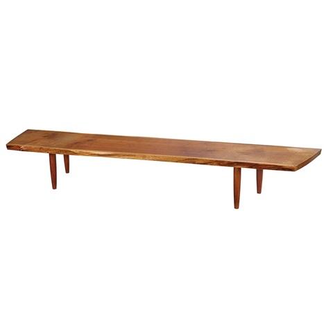 bench by george nakashima