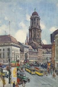 altes stadthaus, vom molkenmarkt aus gesehen by karl langhammer