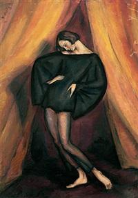portrait einer tänzerin by walter wäntig