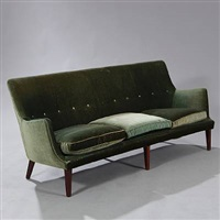Freestanding Three Seater Sofa 1953