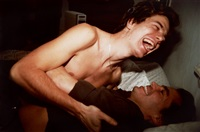 matt and lewis on the bed, cambridge by nan goldin