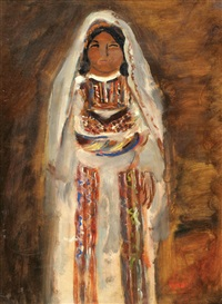 yemenite bride by isaac frenel