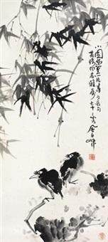 花鸟 by jiang fengbai