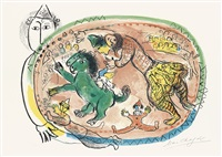 le cercle rouge by marc chagall