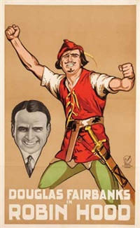 movie: douglas fairbanks in robin hood by frans bosen