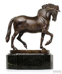 schreitendes pferd by francesco fanelli