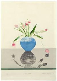 pretty tulips by david hockney