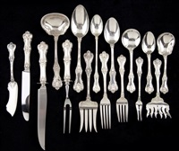 federal cotillion flatware (set of 110) by frank smith