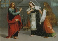 christo in casa di marta e maria by vincenzo di benedetto tamagni
