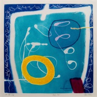 aqua pool; night lifting (2 works) by heidi konig