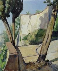 strada di fiesole by maria bacci-baccio
