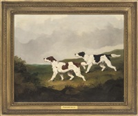 setters in a landscape by martin theodore ward