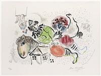 le cirque ambulant by marc chagall