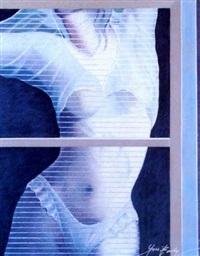 nu á sa fenêtre by yves bady