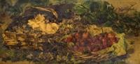 cestos con flores y frutos by sebastian gessa y arias