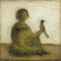 garçon avec un oiseau by oleg tyrkin