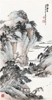 溪山静逸 by xiao junxian