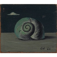 snail shell by gertrude abercrombie