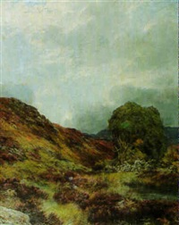 highland landscape by james faed the younger