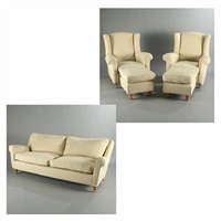 le sofa (model a-23-001 & b-33-004) (set of 5) by antonio & enrica (co.)