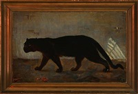 a black panther by helga ancher