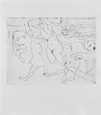 peer gynt (portfolio of 11 w/title, index & text) by achim freyer