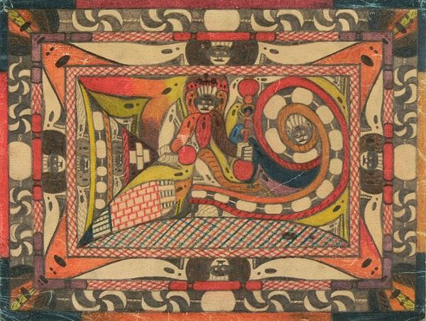 giranttka pl71 from verzeichniss selbst gemachter porträts bilder welche ich jeh an herrn doktor morgenhaler im neu bau der irren anstalt waldau bei bern schweiz abgeliefert habe skt adolf ii pattientt per stück zu jeh fr 5 by adolf wölfli